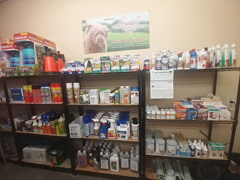 flea, tick, dewormer, and milk formula products
